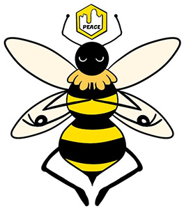 Bee at Peace logo