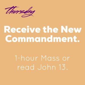 Holy Week 2021_Holy Thursday